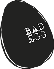 Bad Egg Logo graffiti